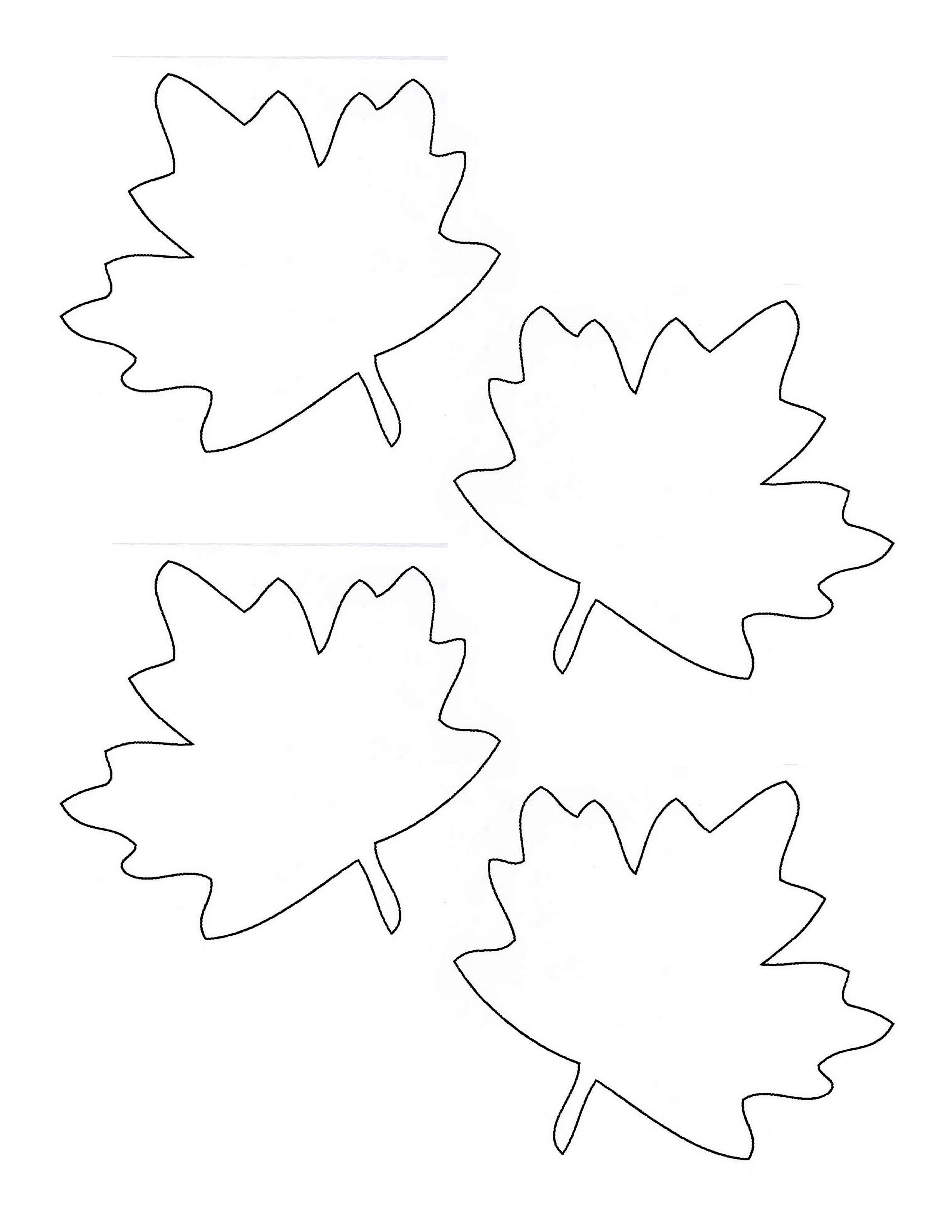 Stupendous image for thankful leaves printable